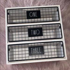 RAE DUNN  |  ONE TWO THEEE Storage